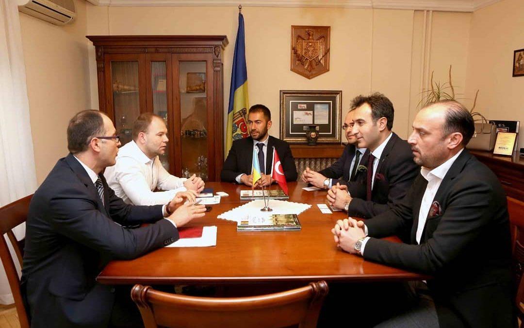Moldova Ankara Ticaret Ateşesi ile Toplantı