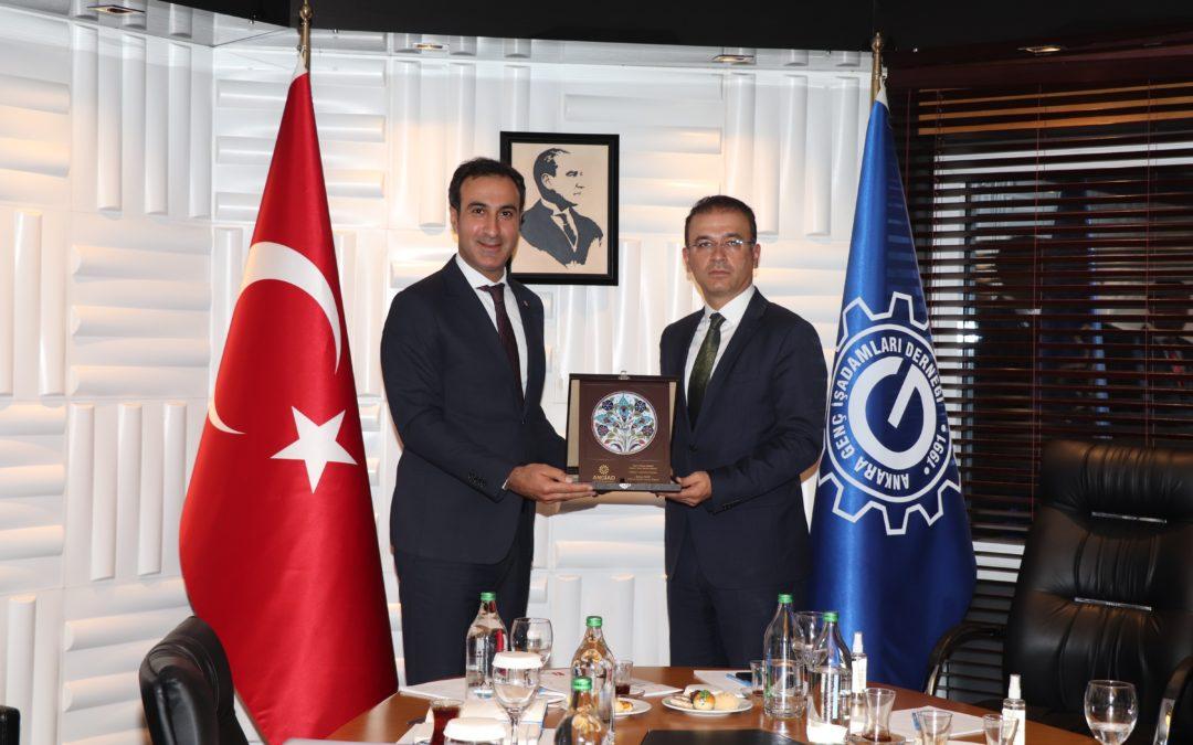 Ankara Vergi Dairesi Başkanı'nı ağırladık